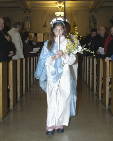 Feast of Santa Lucia at 11:00 am