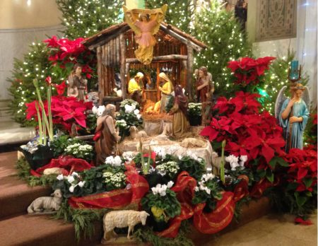 Christmas Eve  Midnight Mass, doors open at 11:00 p.m. for Midnight Mass