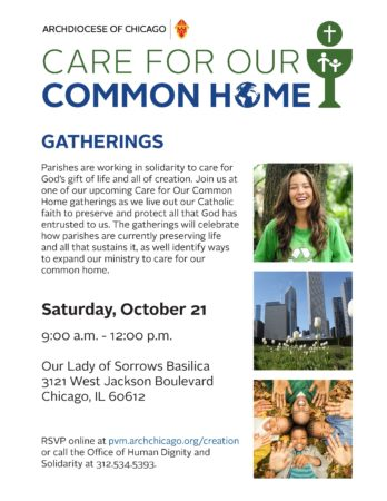 Care for Our Common Home @ Our Lady of Sorrows Basilica